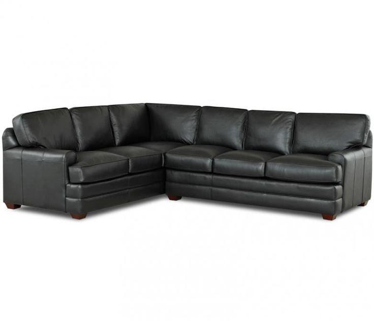 Amazing The Alexandria II Leather Sectional