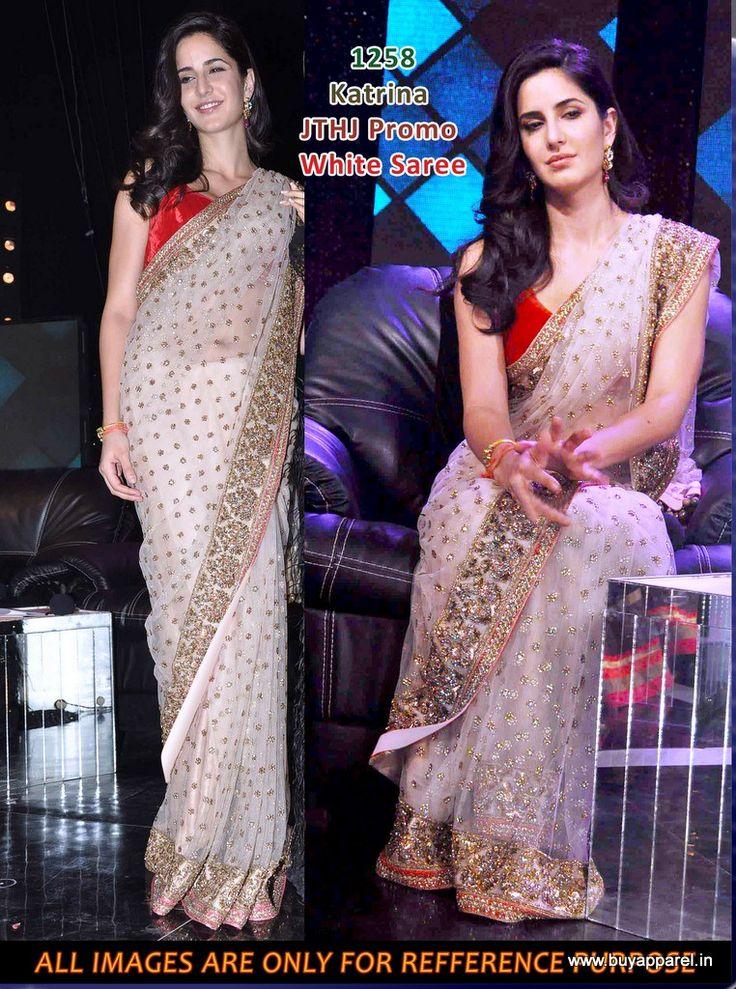 Buy Katrina Kaif Jab tak hai jaan bollywood saree online