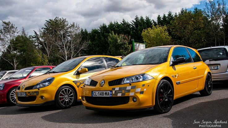 Renault Clio 3 RS and Mégane RS R26