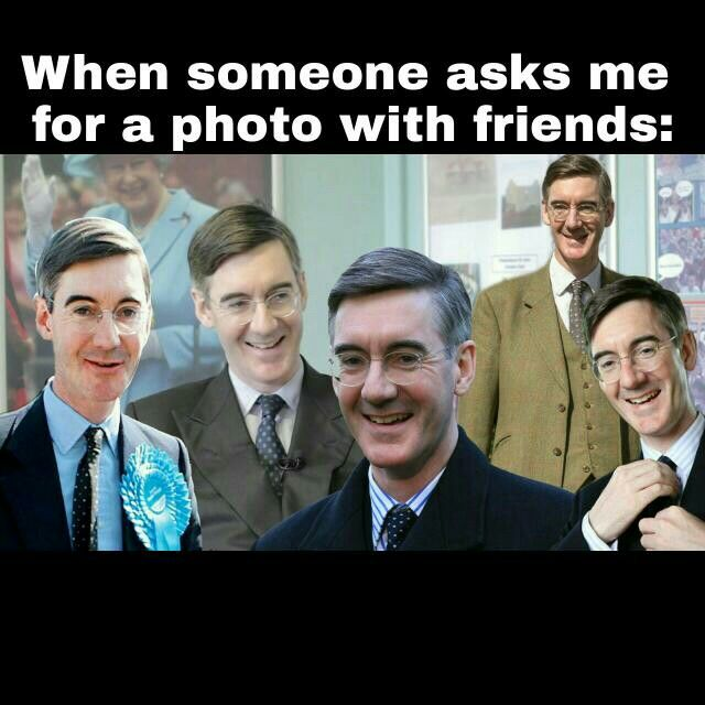 introvert squad funny meme - jacob rees-mogg is the best️