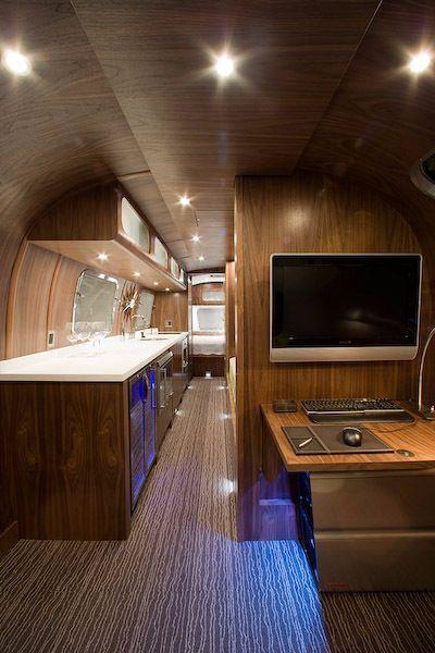578 Best Custom Airstream Interiors Images On Pinterest Airstream Interior Vintage Trailers