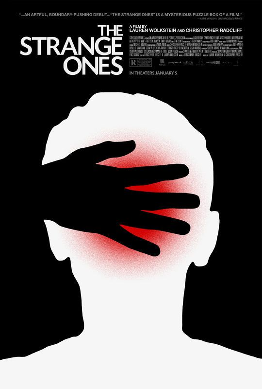 The Strange Ones in US theaters January 5, 2018 starring Alex Pettyfer, James Freedson-Jackson, Emily Althaus, Tobias Campbell. Mysterious events surround two travelers as they make their way across a remote American landscape. On the surface all seems normal, but wha