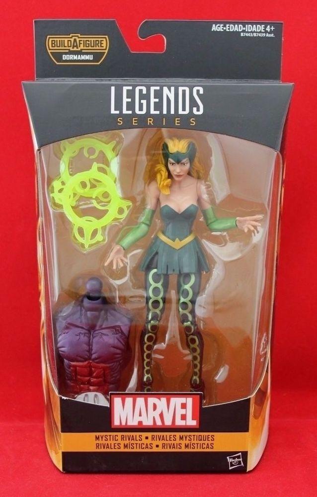 "Enchantress Amora Marvel Legends 6"" Dr Strange BAF with DORMAMMU Free Shipping #Hasbro"