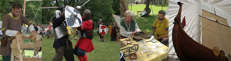 Scandinavian Hjemkomst Festival and  Annual Midwest Viking Festival