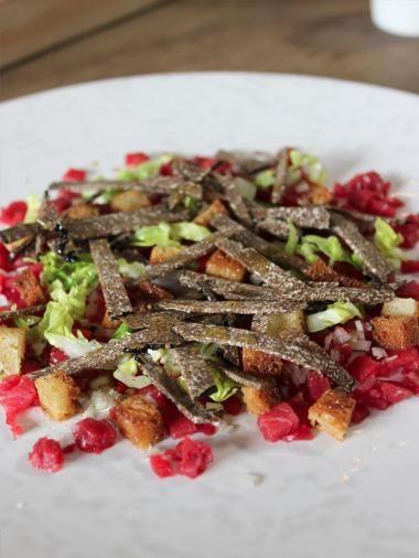 Recept voor tartaar van west-vlaams rood rund met truffel | njam!