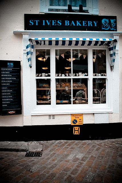 St. Ives Bakery | St. Ives, Cornwall - This is where we got our delicious Cornish pasties!!