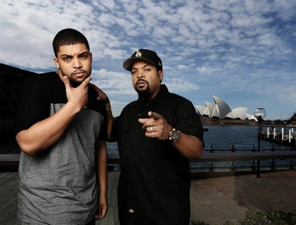 Ice Cube and O'Shea Jackson, Jr./When your son is finer than you lol