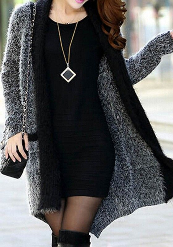 I'm pretty sure I own that dress lol Now I just need that killer sweater to go with it!