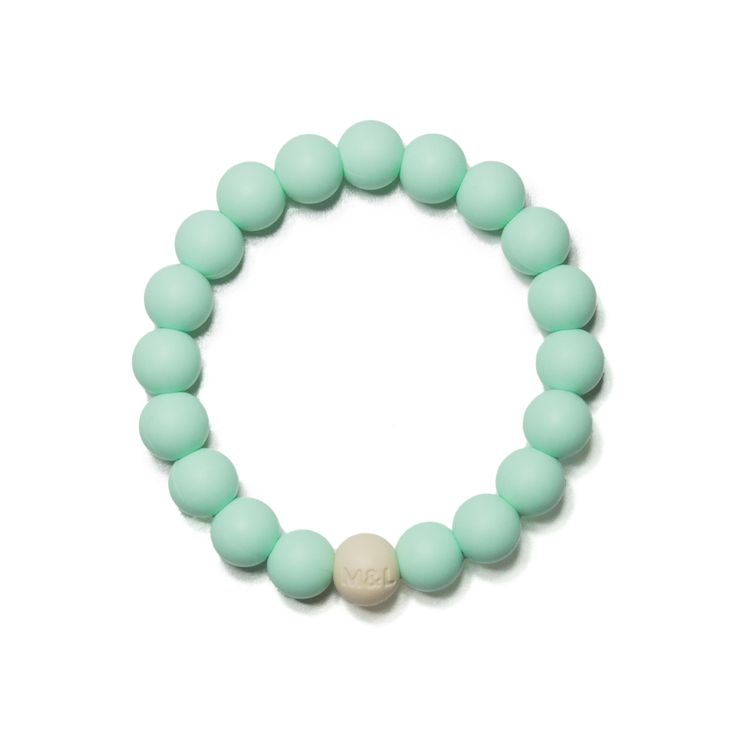 Linda Silicone Teething Bracelet | Mama & Little Teething Jewelry
