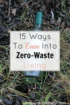 If you are unsure of how to be sustainable or unsure of where to start, here are 15 Easy Ways To Ease Into Zero-Waste Living. Even if you're completely overwhelmed by the idea of being sustainable, these tips will show you how easy it can be.