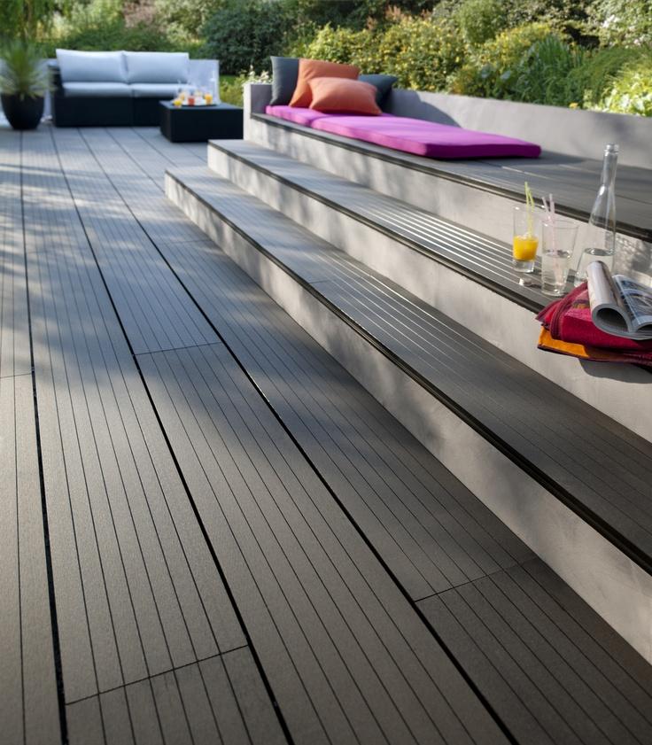 les 25 meilleures id es de la cat gorie terrasse composite sur pinterest terrasse bois. Black Bedroom Furniture Sets. Home Design Ideas