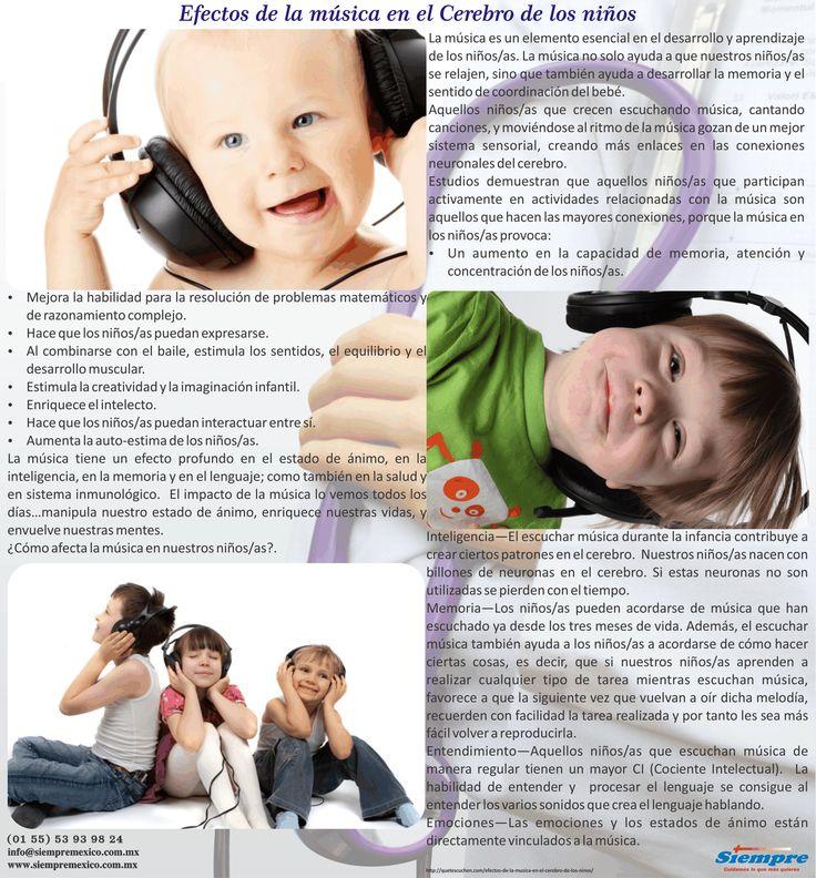 Efectos de la música en el Cerebro de los niños