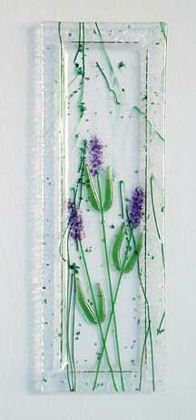 Latta's Fused Glass - An online brochure of hand crafted fused glass pocket vases, plates and more