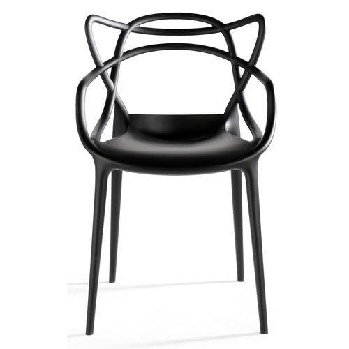 Masters tuoli, musta ryhmässä Huonekalut / Tuolit / Tuolit @ ROOM21.fi (102118)