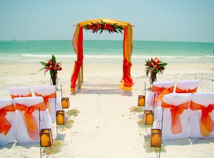 Florida Beach Weddings Sarasota FL Wedding Reception