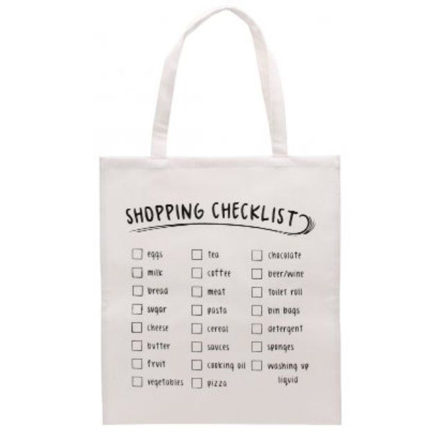 Large Cream Tote Bag Canvas Fun Slogans Travel Shopper Shopping Beach Gym Carrier  Canvas Tote Shopping Bag Approx Size: Inc Handle H: 70cm W: 40cm D:1cm Bag H: 45cm  Choice of 6 fun slogan designs to choose from :  'I Just Saved Myself 5p'  'I must resist I must resist I bought it '  'Out with the old bag'  'Shopping Checklist'  'Totes Amaze'  'LV Just Doesn't Look Good On Me'