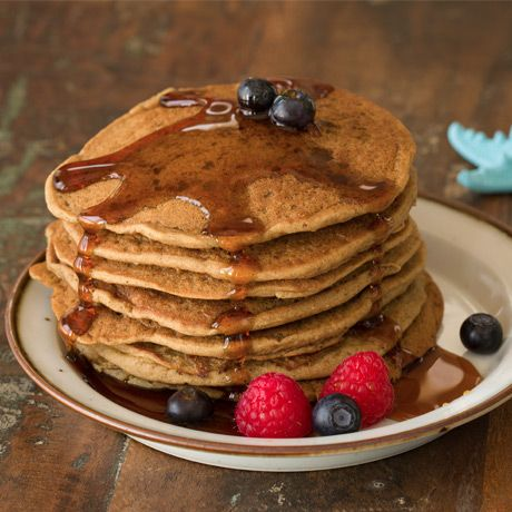 Protein pancakes! I've had these and they taste SOO good. only 1 scoop protein powder, 1/2 banana, 1/2 tblespoon almond milk, 1/4 cup egg whites & 1 tsp cinnamon!!