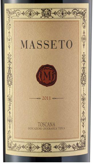 2011 Tenuta dell'Ornellaia Masseto Toscana IGT