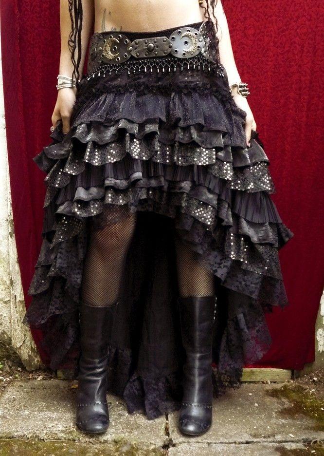 Ruffle Skirt - I want to make something like this in white!