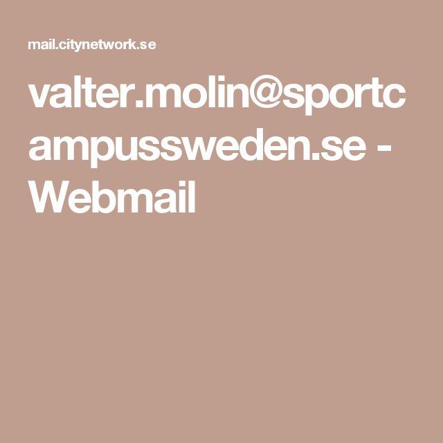 valter.molin@sportcampussweden.se - Webmail