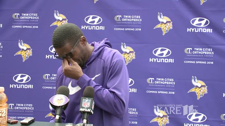 Randy Moss was overcome with emotion remembering the late Dennis Green