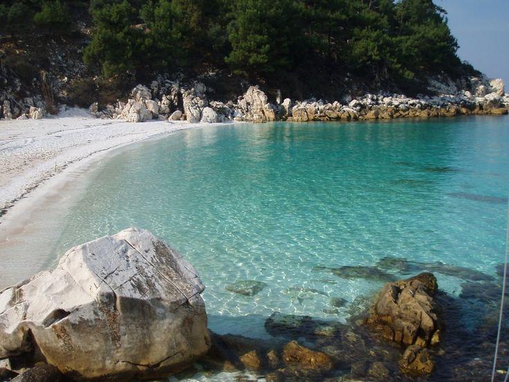 Photo: Thasos island, Macedonia, northern Greece (Saliara beach) #Macedonia #Greece #Thasos #Hellas #beaches #summer #Thassos Credits to: http://www.panoramio.com/photo/27394676