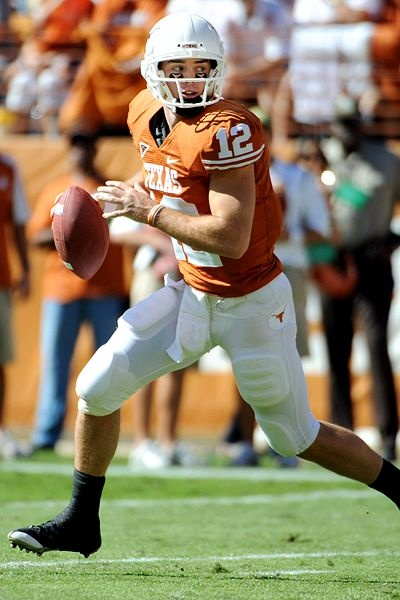 I think there will always be a part of me that's in love with Colt McCoy....