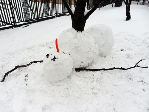 Best Snowmen Images On Pinterest Funny Snowman Snowmen And - 15 hilariously creative snowmen that will take winter to the next level 7 made my day