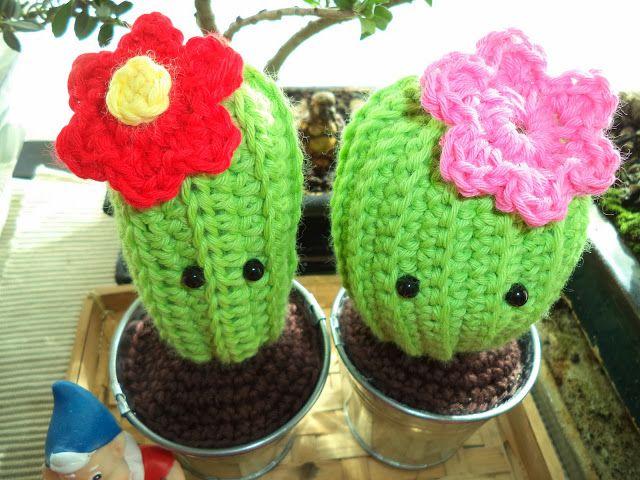 Cactus Amigurumi - Videotutorial en Español aquí: https://www.youtube.com/watch?v=ZzN4zdhIswk