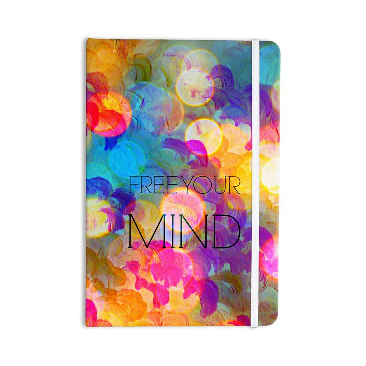 "Ebi Emporium ""Free Your Mind"" Rainbow Everything Notebook"