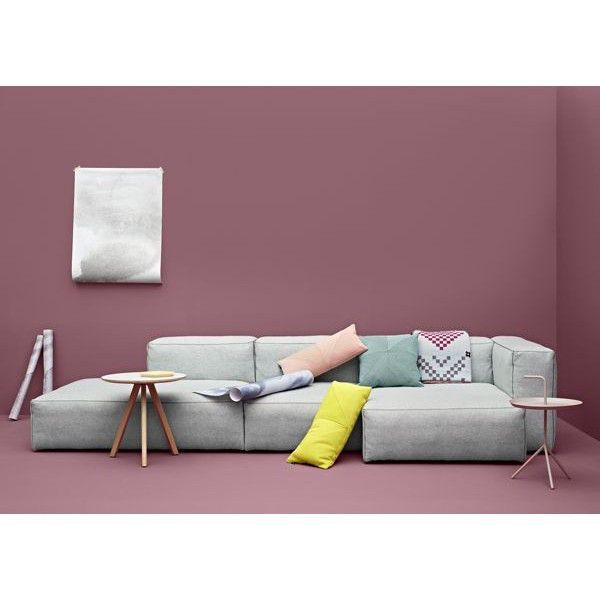 MAGS SOFA SOFT, with inverted seams, combinations (Fabrics version), HAY: comfortable, deco and design