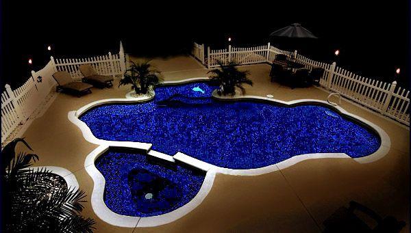 Glow in the Dark Swimming Pool