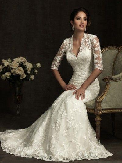 vestidos de novia sencillos cortos - Buscar con Google