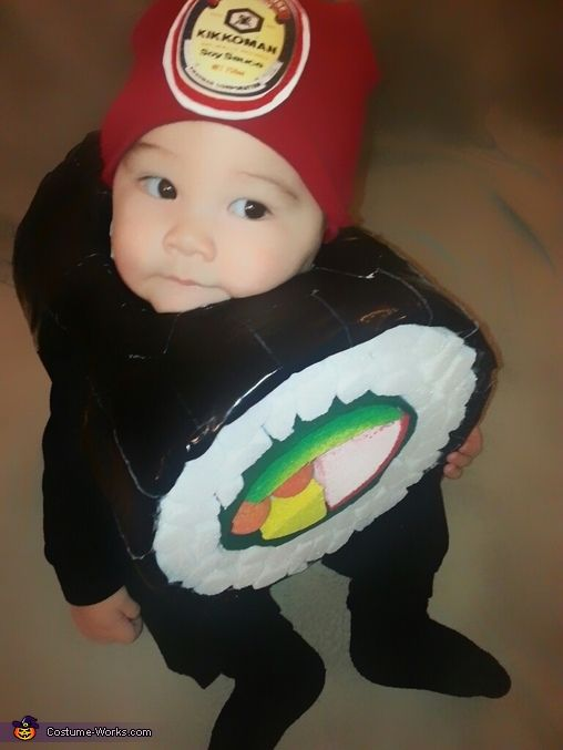 Sushi Roll Costume Homemade Baby
