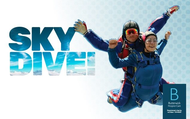 Swapping Heels for Heights: Charles Clinkard Charity Skydive | Home › Blog