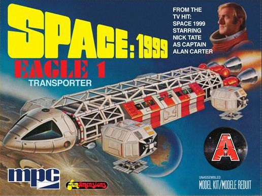 Special Gerry Anderson MPC Eagle Kits Available for Pre-Order! #space1999 #specialedition #gerryandersonshop