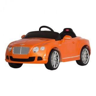 Rastar 82100 Bently Continental GTC 12V Orange  — 14844р. ------ Радиоуправляемый электромобиль Rastar 82100 Bently Continental GTC 12V - 82100 - это легкая и удобная в управлении машинка, которая развивает безопасную скорость до 4 км/ч и рекомендуется детям от 2 до 5 лет. Руль с различными мелодиями поднимет ребенку настроение и сделает поездку еще более увлекательной и интересной. У машинки удобное для малыша сиденье, его эргономика оценивается в 10 баллов. В комплекте поставляются пульт…