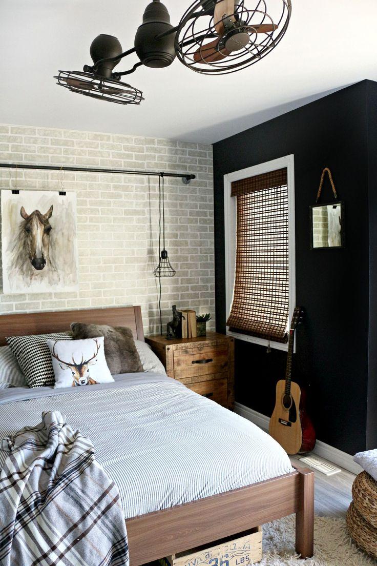 Before amp after tween boy bedroom makeover reveal - Teen Boy Room Reveal