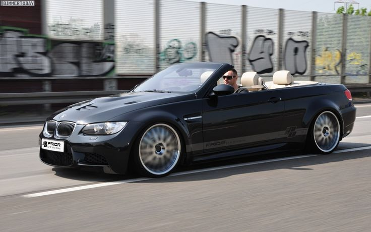 Well known for outrageous bodykits, Prior-Design have tone down a little with this latest offering, a wide body conversion for the BMW 3-Series Convertible. Description from forcegt.com. I searched for this on bing.com/images