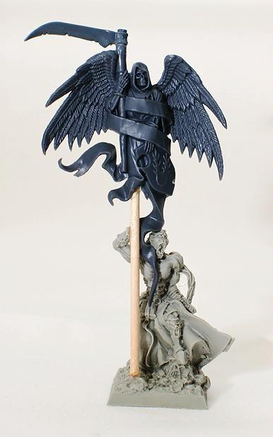 Conversion, Standard, Standard Bearer, Vampire Counts, Warhammer Fantasy