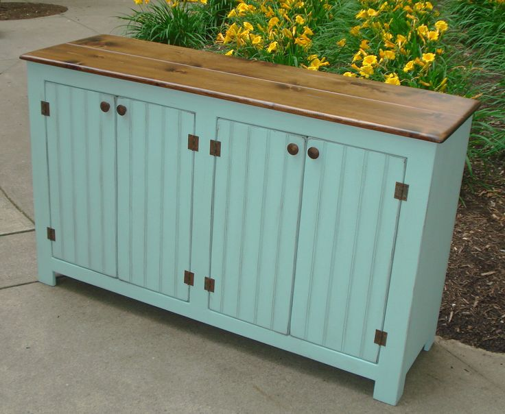 Sideboard Buffet on Etsy, Etsy Furniture, Credenza, Media Console, Farmhouse Buffet, storage cabinet by KKFurniture on Etsy https://www.etsy.com/listing/101376141/sideboard-buffet-on-etsy-etsy-furniture