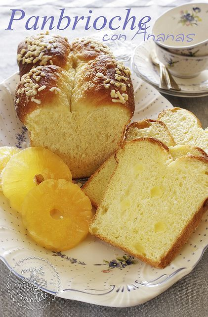 Panbrioche all'ananas by MentaeCioccolato, via Flickr