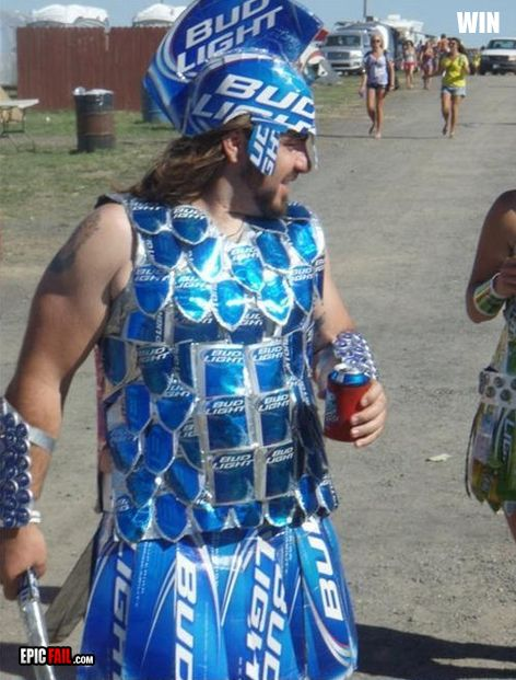 when trojan meets bud light. someone i know HAS to do this!