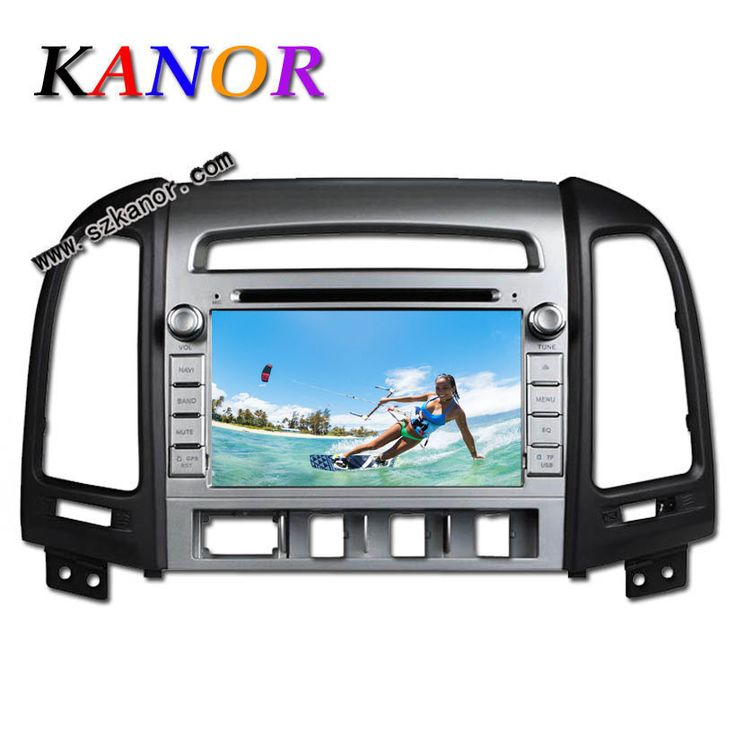 KANOR Android Quad Core  1024*600 Capacitive Car DVD Player For Hyundai Santa Fe 2006 2007 2008 2009 2010 2011 2012 Multimedia