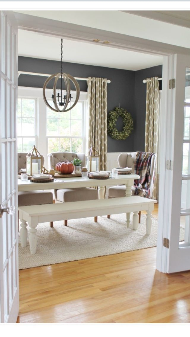 Pin by tonita hickey on dining room ideas pinterest for Casual dining room wall ideas