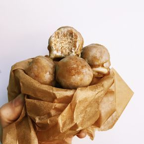 Coconut Maple donut holes raw vegan gf?