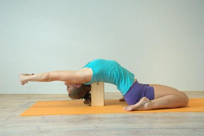35 best images about Yoga with Blocks on Pinterest | Yoga ...