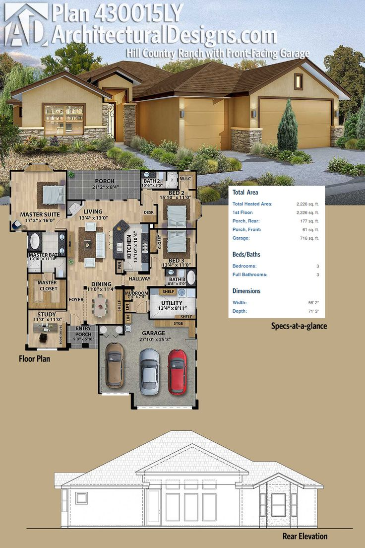 40 Best Hill Country House Plans Images On Pinterest