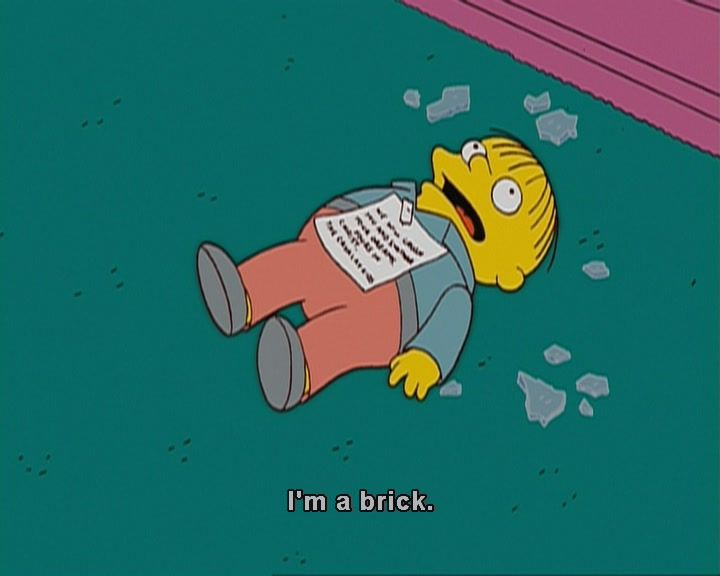 Ralph Wiggum. The Simpsons