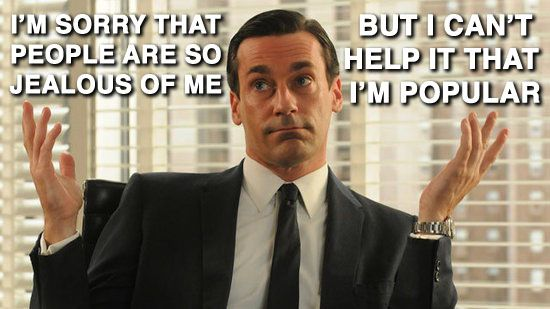 Mad Men saying Mean Girls quotes is so fittingly hysterical.
